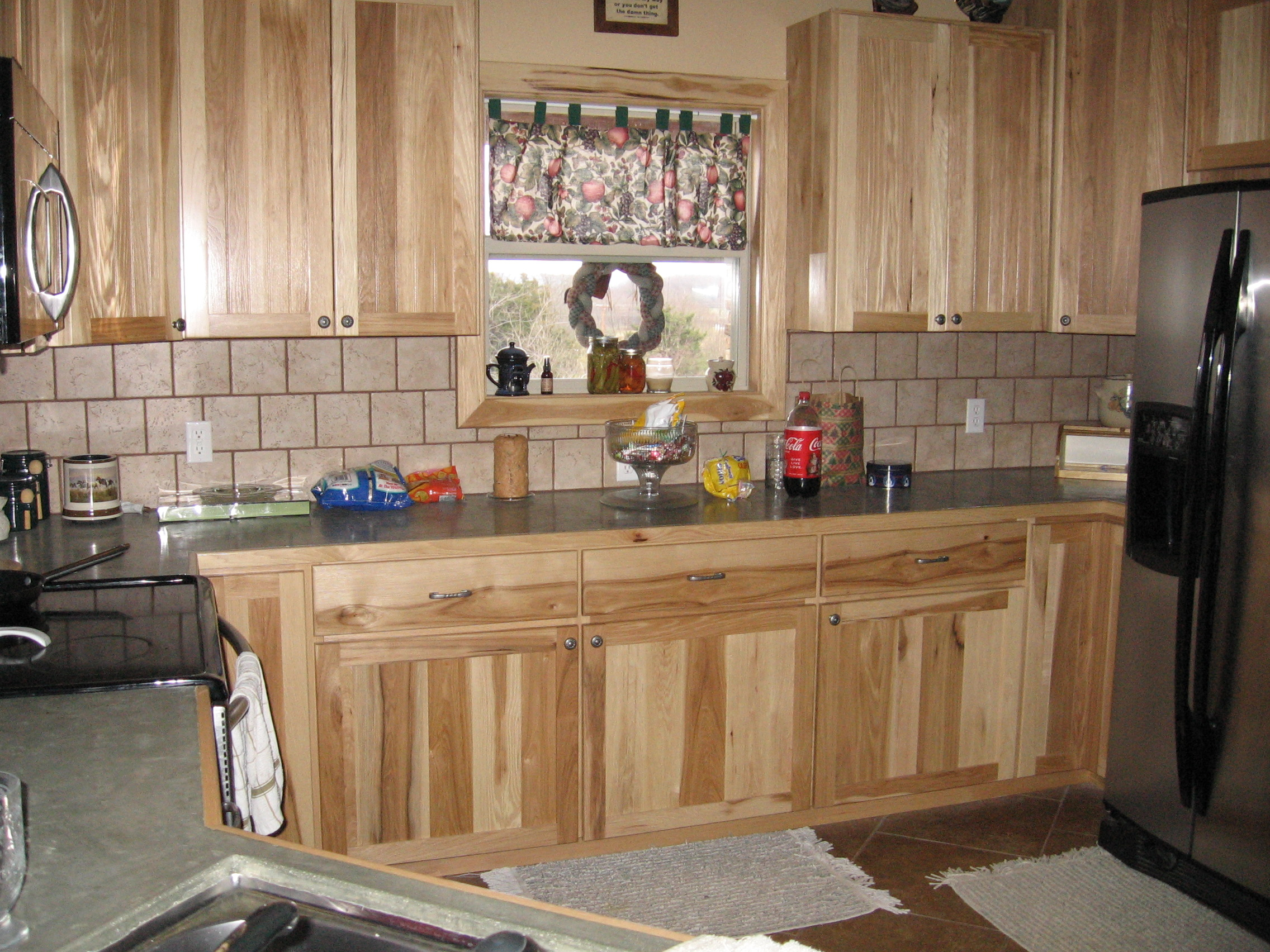 Hickory Cabinets Kitchen Car Tuning Paint