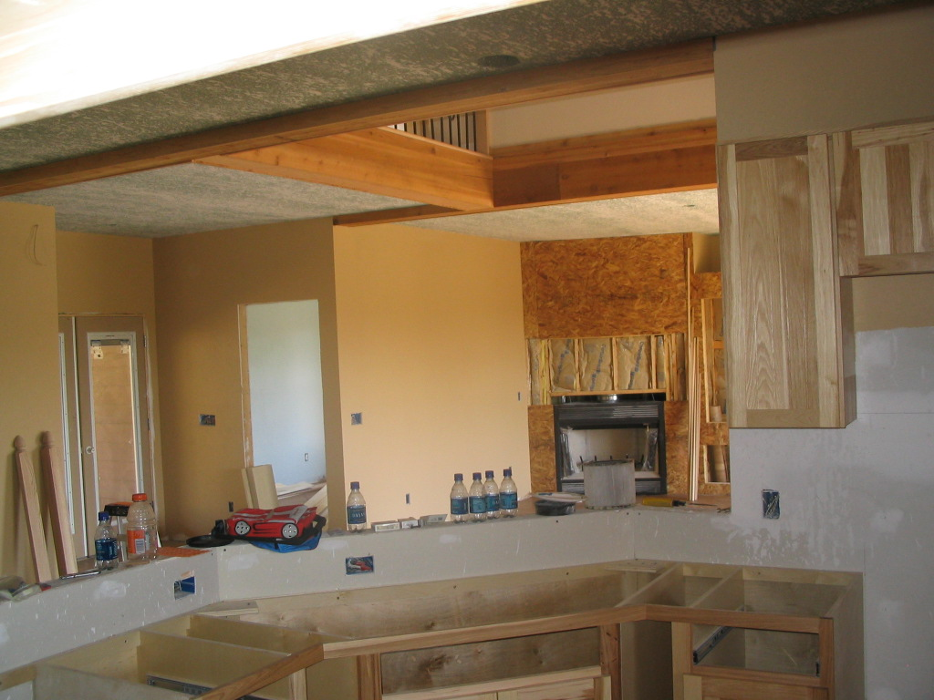 franker enterprises inc natural hickory kitchen custom kitchen cabinets new kitchen cabinets mn