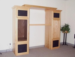 Highlight for Album: The Adjustable Unit in natural Oak