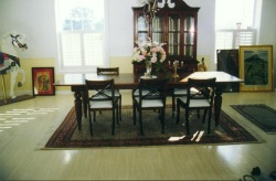 Highlight for Album: Mahogany Dining Room Table