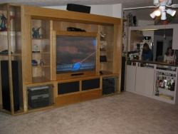 Highlight for Album: Big Screen TV ***PLUS*** Projection Screen Entertainment Center----CLICK ON THE PICTURE TO SEE MORE PICTURES WITHIN THIS ALBUM