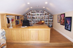 Highlight for Album: Custom Desk in Loft----------------CLICK ON THE PICTURE TO SEE MORE PICTURES WITHIN THIS ALBUM