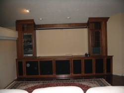 Highlight for Album: Jatoba Entertainment Center