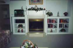Mantel Bookcase Combination---------------CLICK ON THE PICTURE TO SEE MORE PICTURES WITHIN THIS ALBUM