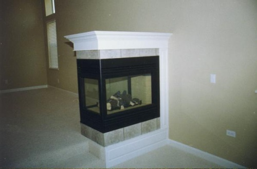 Painted Electric Fireplace ---------------CLICK ON THE PICTURE TO SEE MORE PICTURES WITHIN THIS ALBUM
