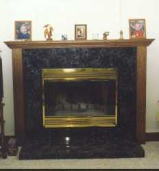 Sassafrass Fire Place Mantel---------------CLICK ON THE PICTURE TO SEE MORE PICTURES WITHIN THIS ALBUM